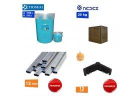 Çift Cam Malzemeleri( paket satış )