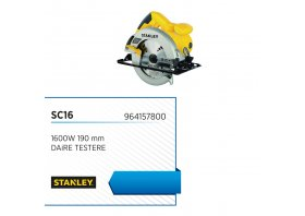 Daire testere 1600w 190 mm - STANLEY
