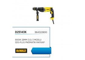 Sds-plus pnömatik matkap 900w 28mm 3.0j 3 modlu - DEWALT