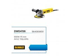 Avuç taşlama 900w 115 mm no-volt - DEWALT