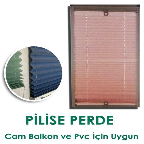 Pencere İçin Plise Perde ( Balkon,Pvc Uygun)