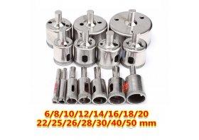 Cam Delme Uçları 6-8-10-12-14-16-18-20-22-25-26-28-30-40-50 mm