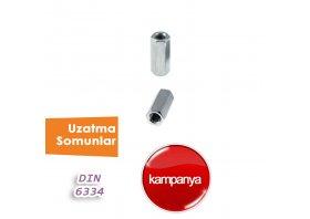 Uzatma Somun DIN 6334