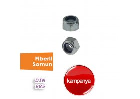 Fiberli Somun DIN 985
