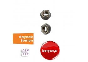 Kaynak Somun DIN 929