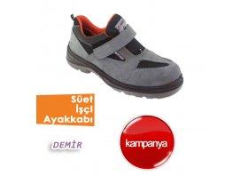 Süet İşçi Ayakkabıları( Demir )