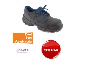 Deri İşçi Ayakkabıları( Demir )