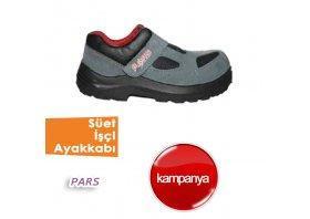 Süet İşçi Ayakkabıları( Pars )