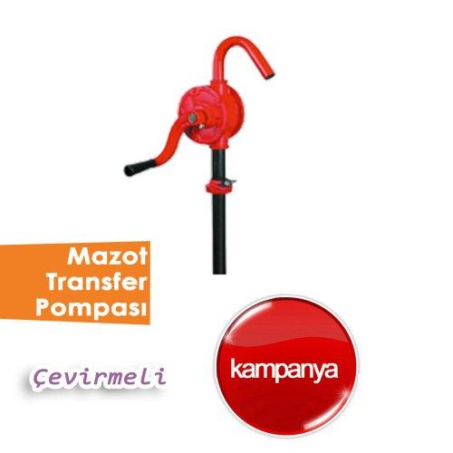 Çevirmeli Mazot Transfer Pompası